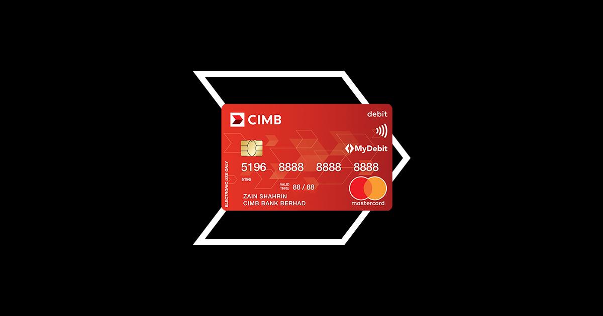Cimb Debit Mastercard Debit Mastercard Cimb