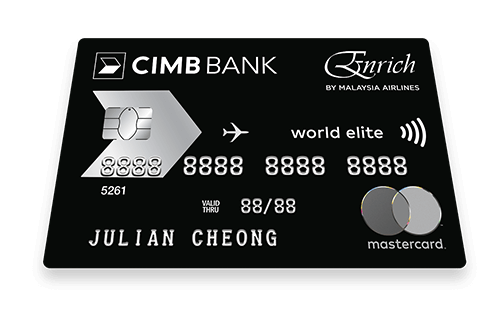 CIMB Enrich World Elite Credit Card