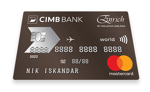 CIMB Enrich World Credit Card