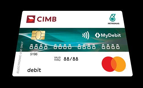 Petronas Debit Mastercard