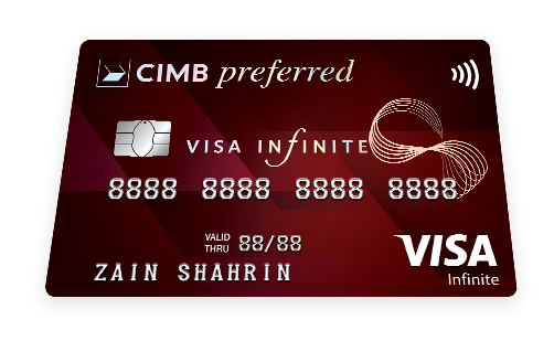 CIMB Preferred Visa Infinite Credit Card
