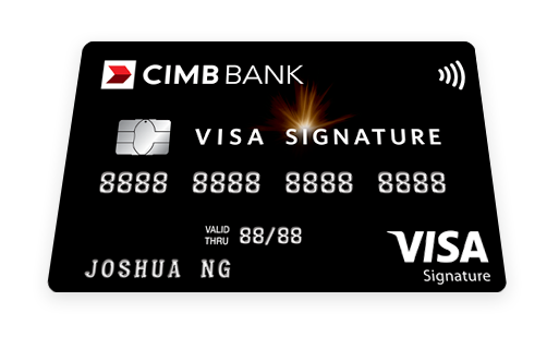 CIMB Visa Signature Credit Card