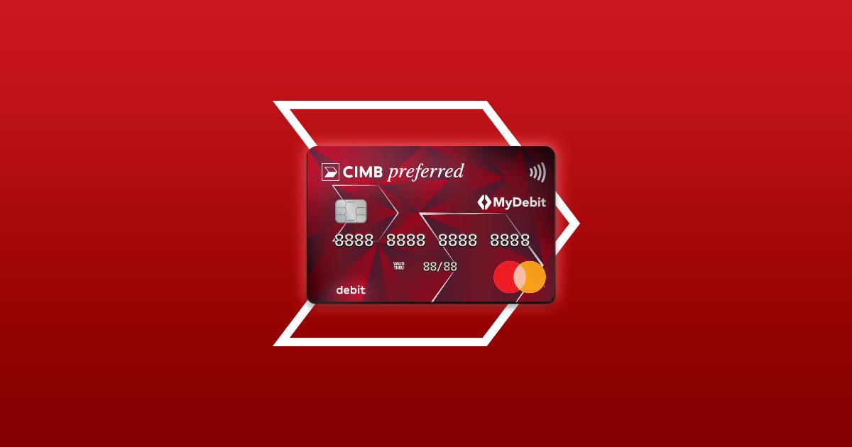 Cimb Preferred Debit Mastercard Cimb Debit Card Cimb