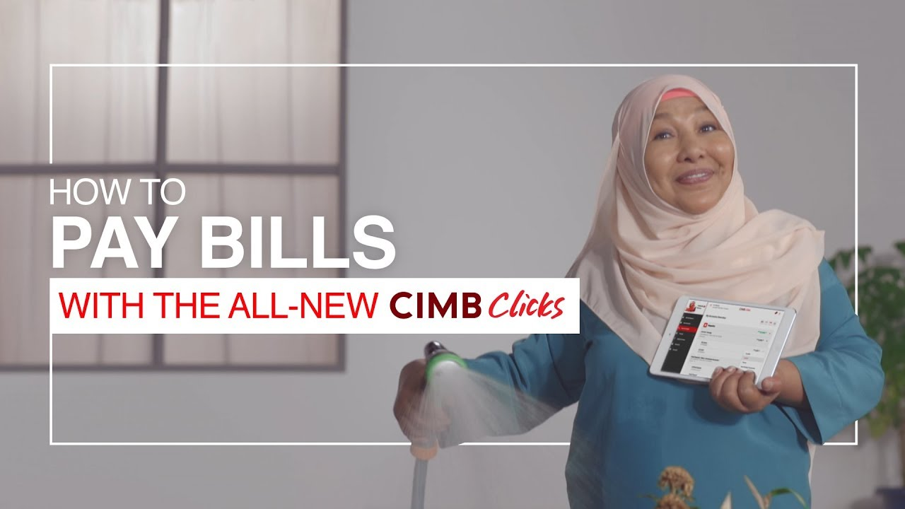 Pay Bills with the All-New CIMB Clicks
