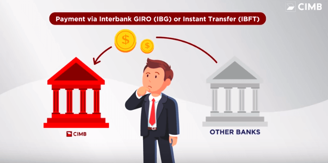 Pay your CIMB Credit Card & Financing from other Bank using IBG/IBFT